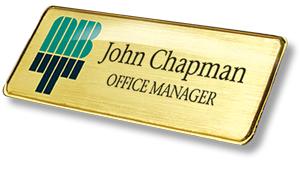 Executive Name Badge