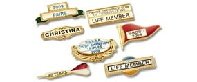 buy metal club badges from name badges international