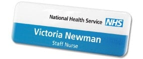 Standard Name Badge