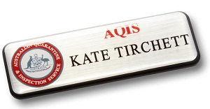 Prestige Name Badge