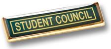Medium Metal Badge With Border