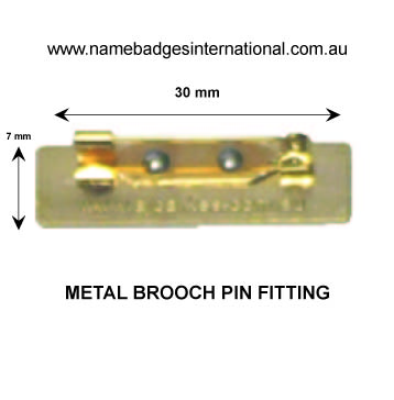 Standard School Badge with fittings